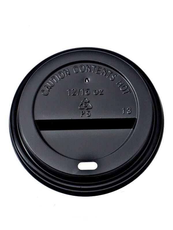 Black Ripple Cup Lid